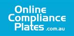 Online Compliance Plates Logo